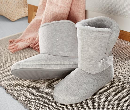 Hausschuh-Stiefel