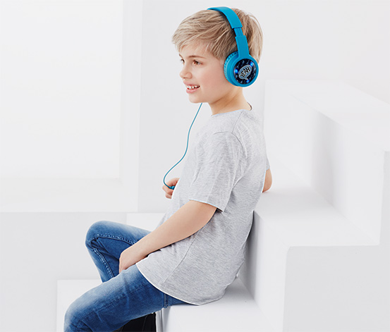 Kinder-Stereo-Kopfhörer mit LEDs