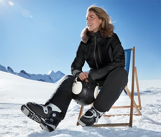 Inovatívna lyžiarska bunda