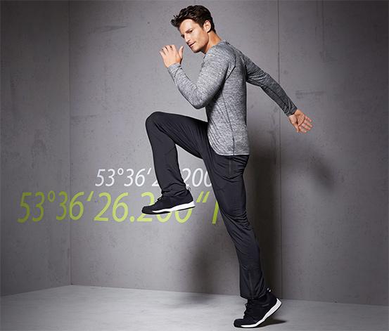 DryActive Plus Spor Pantolon, Siyah