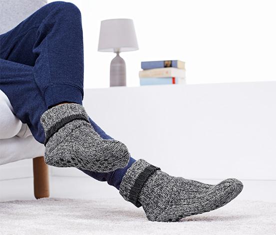 Antrasit Ev Çorabı