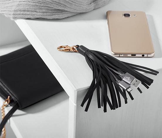 USB Şarj Kablolu Püskül