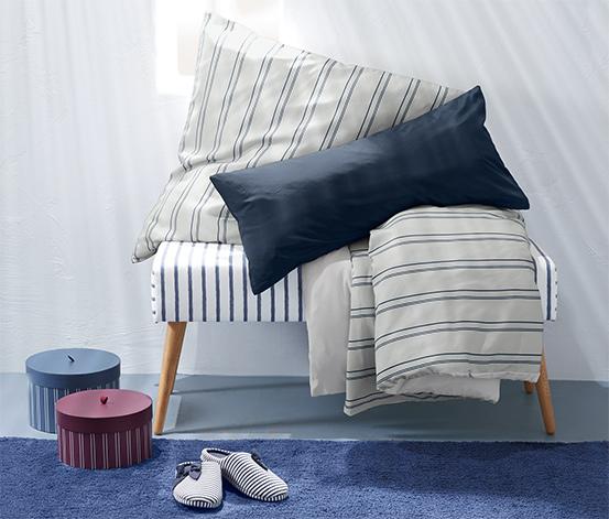 Kétoldalas, mikroszálas ágynemű, egyszemélyes, kék