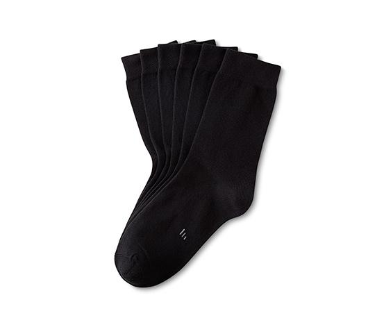Siyah 3 Çift Organik Pamuklu Çorap