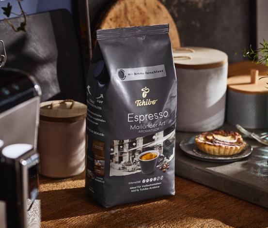 Espresso Mailänder Art – 1 kg Ganze Bohne