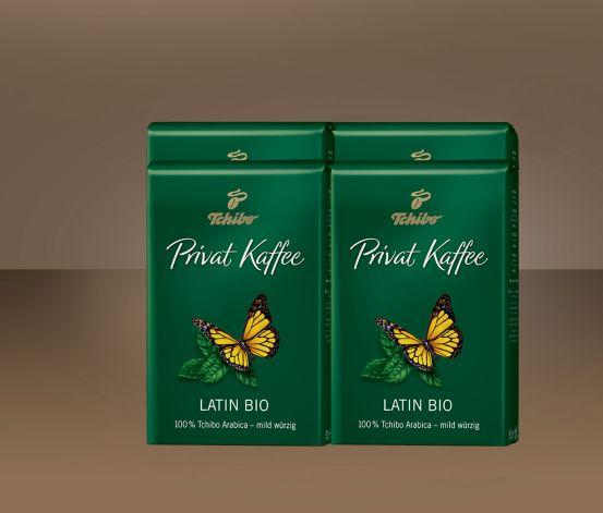2 kg Privat Kaffee Latin Bio - Ganze Bohne