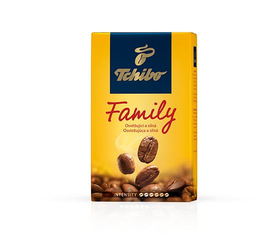 Tchibo Family - pražená mletá káva
