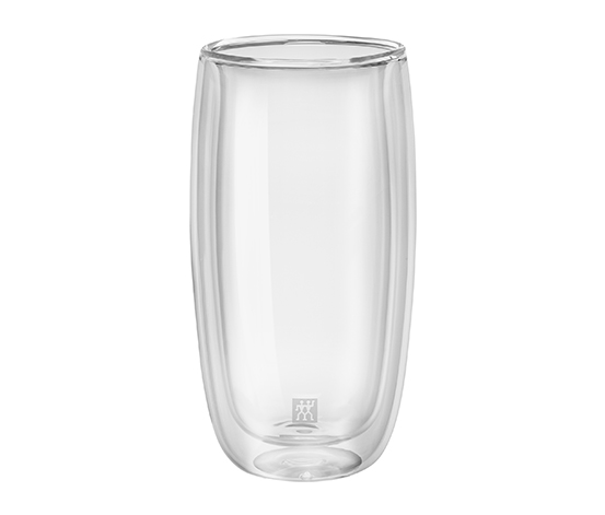 Zwilling Çift Camlı 2'li Soğuk İçecek Bardağı Seti, 474 ml