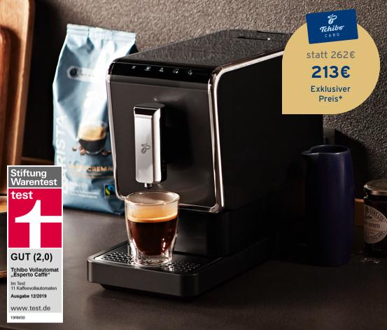 Tchibo Kaffeevollautomat »Esperto Caffè«, Anthrazit