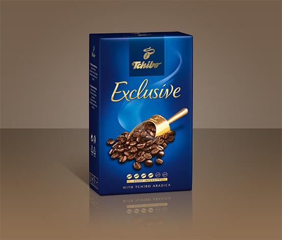 Tchibo Exclusive – zrnková káva