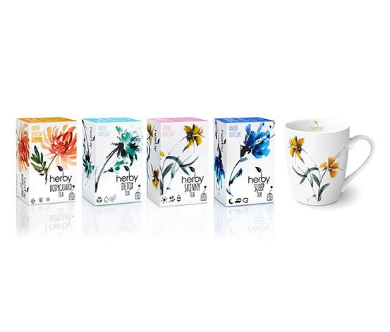 Herby Mix Pack Tea Bitki Çayı, 4lü