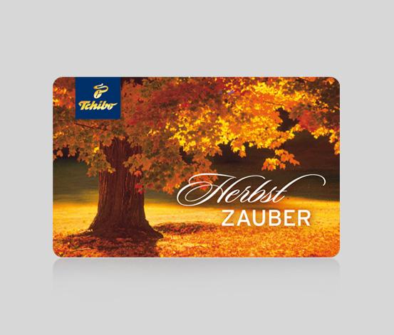 B2B Geschenkkarte Herbstzauber - 15 €