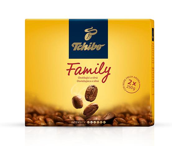 Tchibo Family – pražená mletá káva