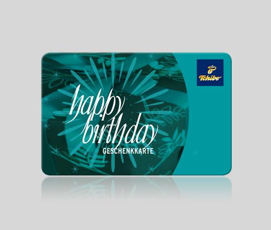 Happy Birthday Geschenkkarte 75 CHF