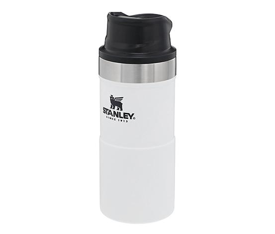 Stanley Beyaz Klasik Tek El Seyahat Mug 0,35lt