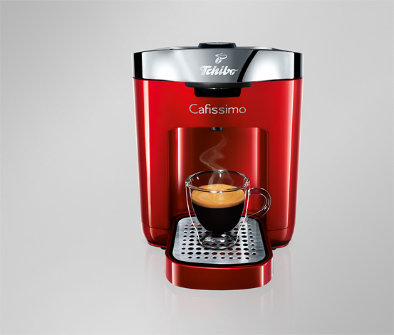 Cafissimo DUO Hot Red