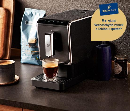 Plnoautomatický kávovar Tchibo Esperto Caffè 1.1