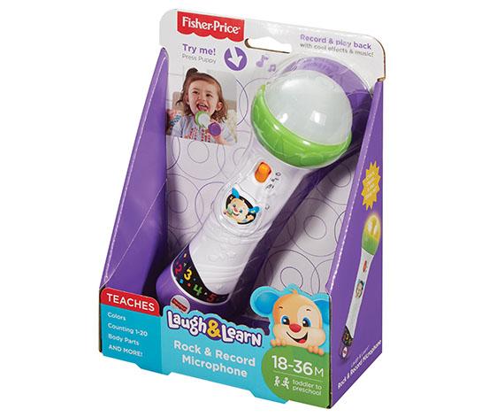 Fisher Price LnL Köpekçiğin Eğlenceli Mikrofonu  (Türkçe)