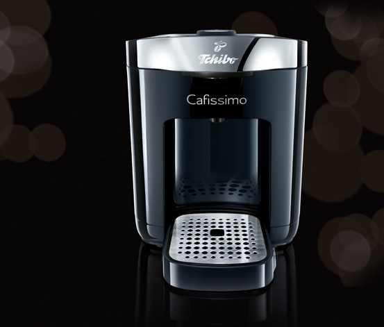 Cafissimo DUO, Piano Black