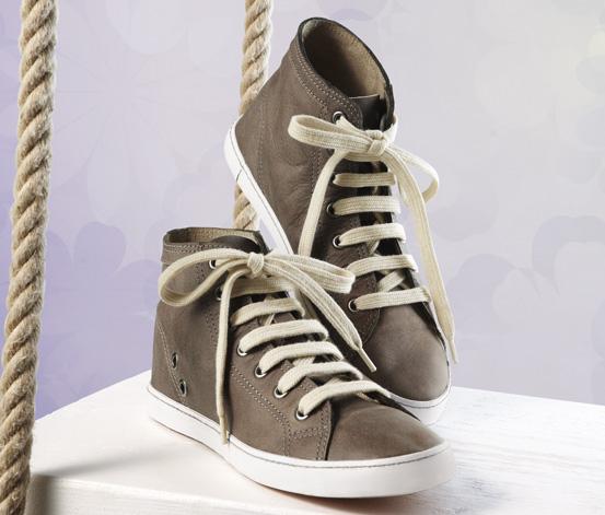 Kožené boty sneaker