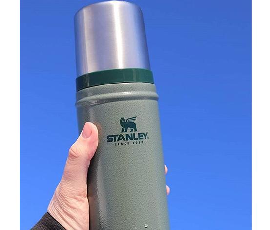 Stanley Yeşil  0.75 L Classic Legendary Bottle Hammertone Green