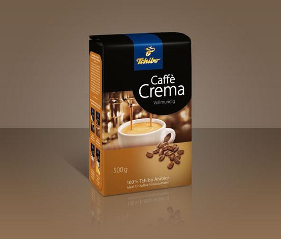 Caffè Crema Vollmundig, 500 g, kawa w ziarnach