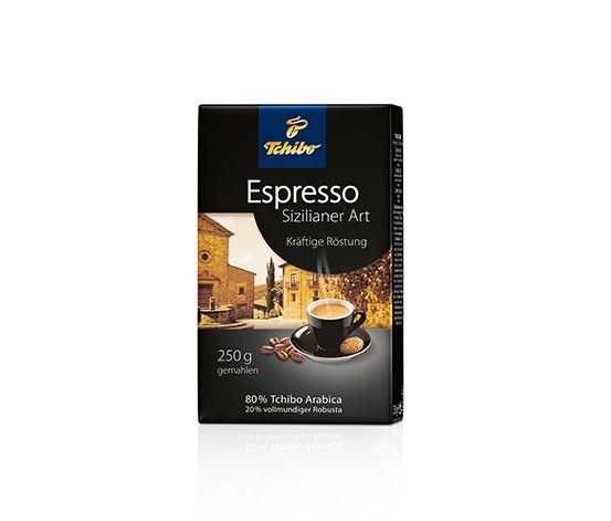 Espresso Sizilianer Art - 250g Gemahlen
