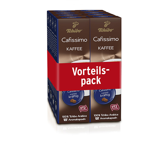 Kaffee kräftig - 80 Kapseln