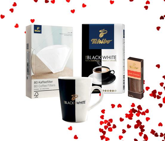 Black'N White 250 g Filtre Kahve Hediye Seti