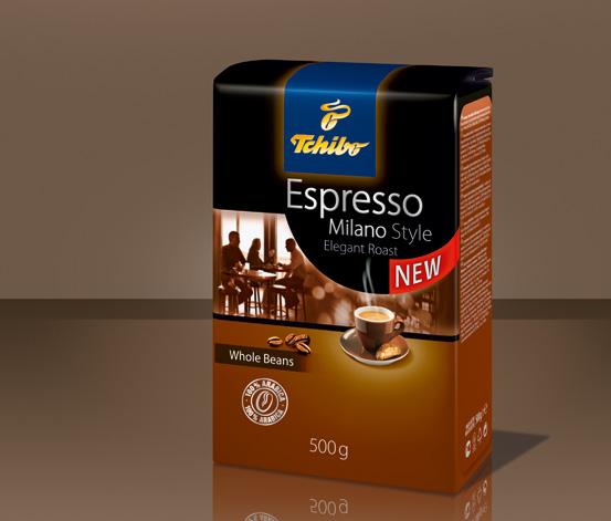 Espresso Milano Style, 1kg, kawa w ziarnach