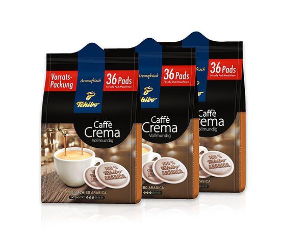 108 Pads Caffè Crema Vollmundig