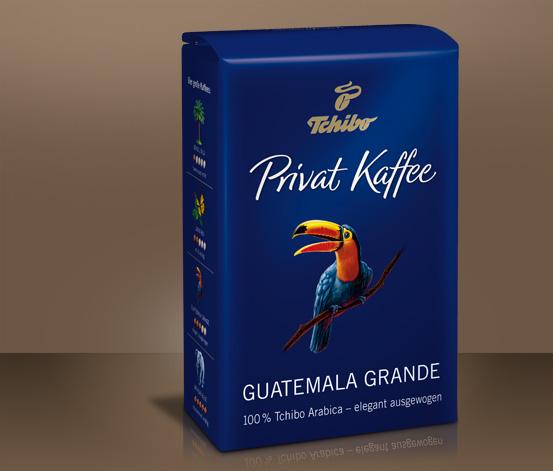 Privat Kaffee, Guatemala Grande, 500 g, kawa w ziarnach