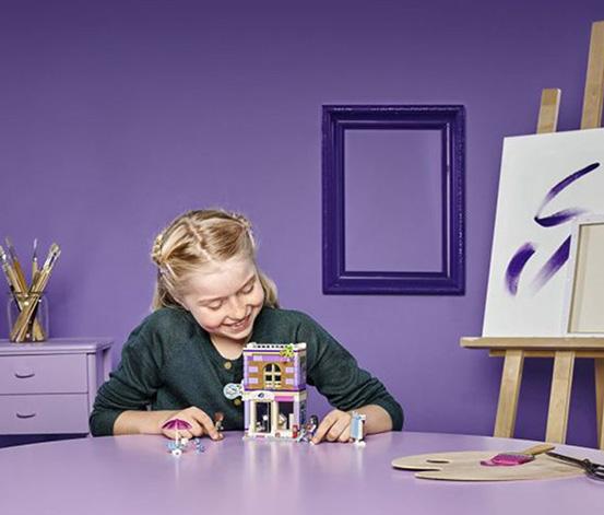 LEGO® Friends Emma'nın Resim Atölyesi