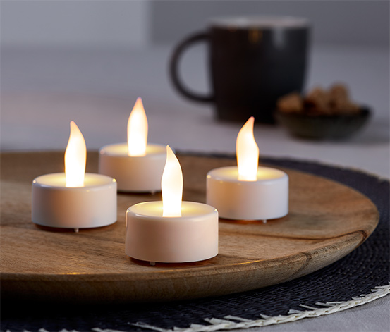 LED Tealight Mum