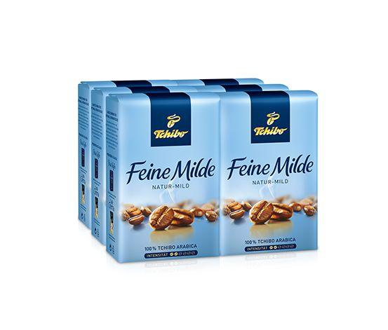 Feine Milde - 6 x 500g Ganze Bohne