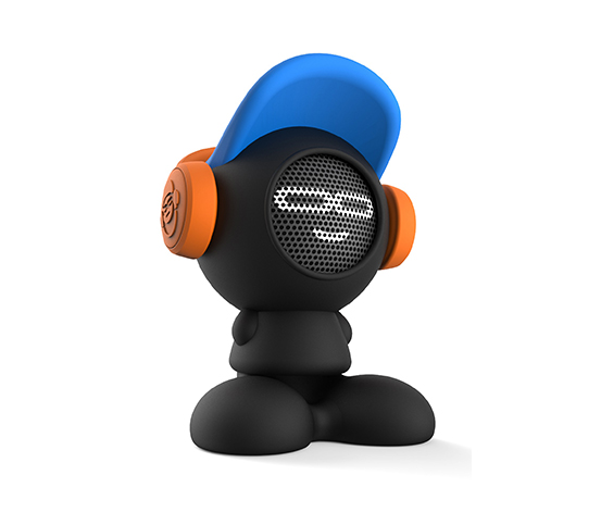 Siyah iDance Beat Dude Bluetooth Hoparlör