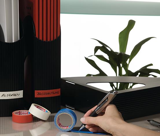 tesa Extra Power Tamir Bandı,Kırmızı, 2,75m*19mm