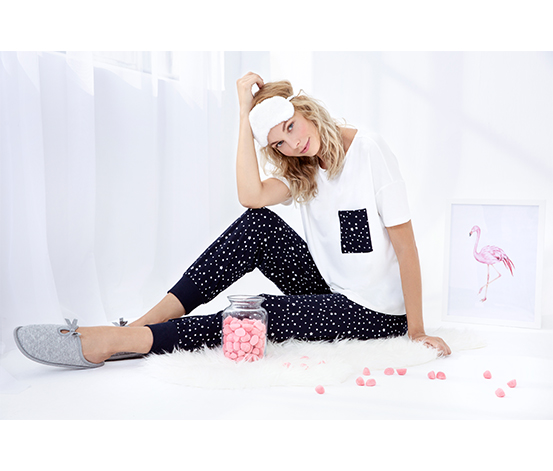 Star Basic Pijama Set