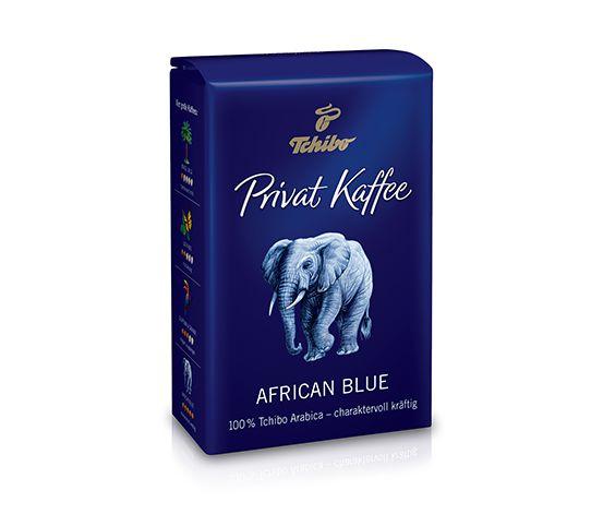 Privat Kaffee, African Blue, 500 g, kawa w ziarnach