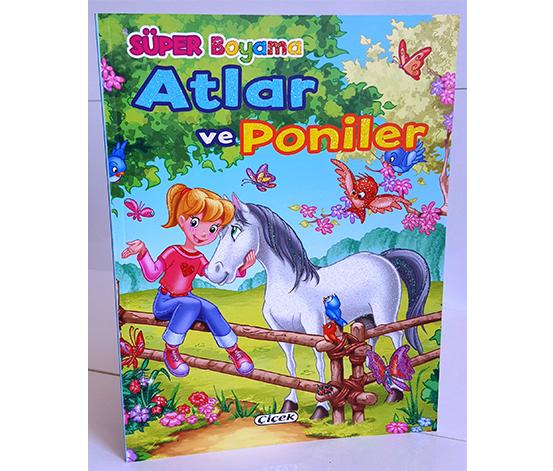 Süper Boyama - Atlar ve Poniler 2