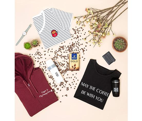Bordo Fermuarlı Coffee Sweatshirt