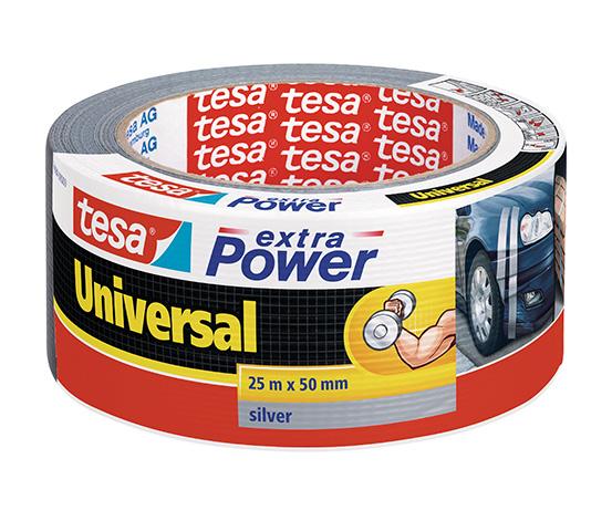 tesa® Extra Power Universal Duct Bant, Gaffer Bant, 25m:50mm, Gri