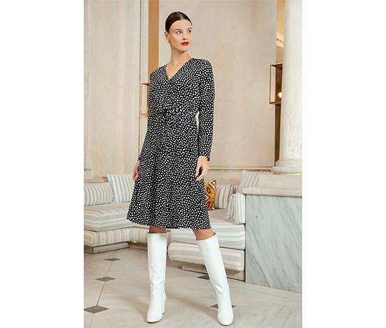 Renkli Anvelop Elbise