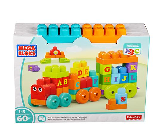 Mega Bloks ABC Alfabe Treni