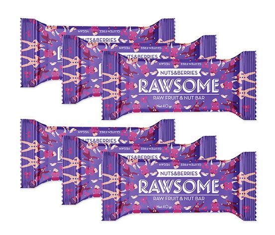 Rawsome Karışık Kuruyemişli Bar, 6'lı