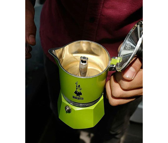 Bialetti Moka Pot 1 Cup Yeşil