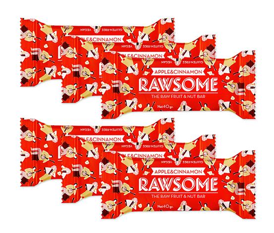 Rawsome Elma Tarçınlı Bar, 6'lı