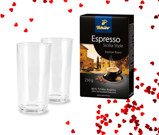Espresso, Sicilya 250 Kahve Hediye Seti