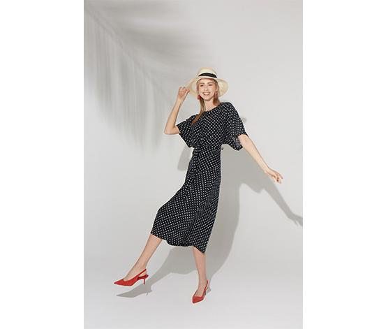 Bağlamalı Elbise