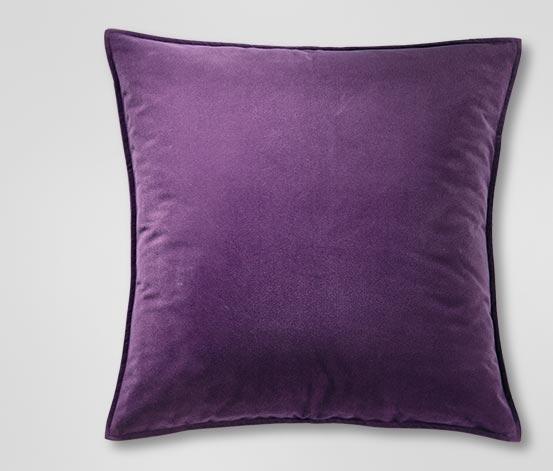Dekoracyjna poszewka na poduszkę, lila